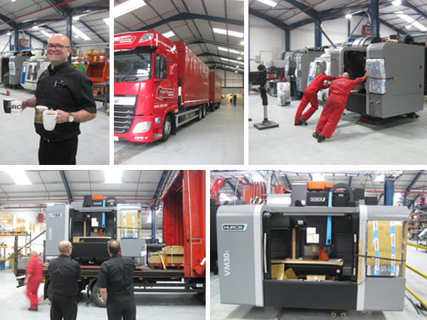 Hurco CNC Delivery