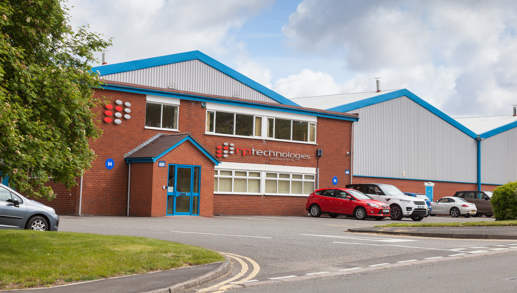 RP Technologies, Hauptsitz in UK